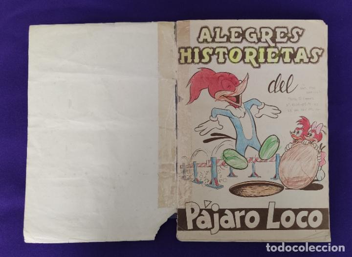 Coleccionismo Álbumes: ALBUM DE CROMOS INCOMPLETO. ALEGRES HISTORIETAS DEL PAJARO LOCO. FALTAN 5 CROMOS DE 200. FHER. 1957. - Foto 2 - 223594123