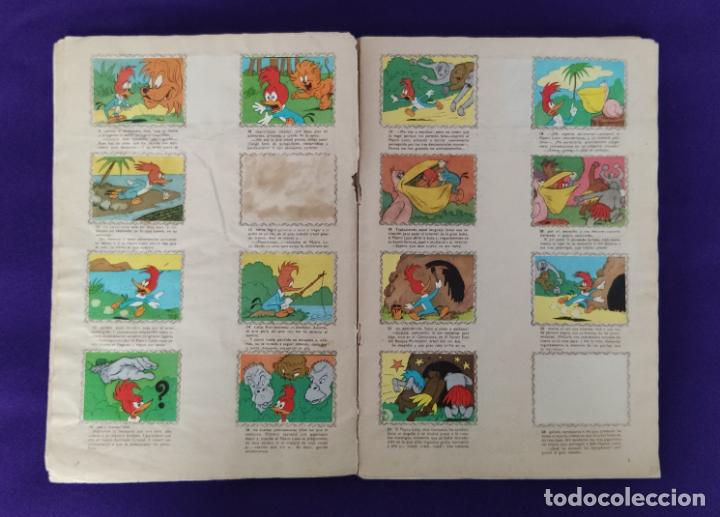 Coleccionismo Álbumes: ALBUM DE CROMOS INCOMPLETO. ALEGRES HISTORIETAS DEL PAJARO LOCO. FALTAN 5 CROMOS DE 200. FHER. 1957. - Foto 4 - 223594123