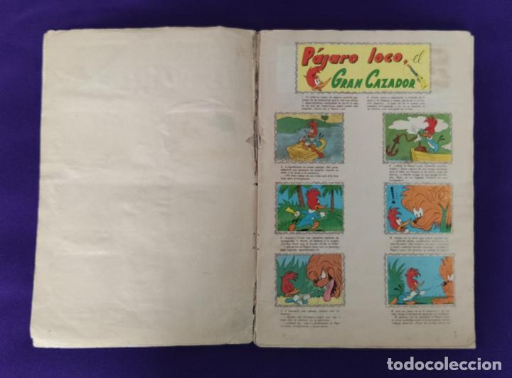 Coleccionismo Álbumes: ALBUM DE CROMOS INCOMPLETO. ALEGRES HISTORIETAS DEL PAJARO LOCO. FALTAN 5 CROMOS DE 200. FHER. 1957. - Foto 3 - 223594123