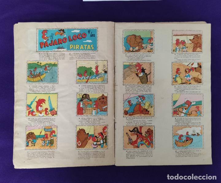 Coleccionismo Álbumes: ALBUM DE CROMOS INCOMPLETO. ALEGRES HISTORIETAS DEL PAJARO LOCO. FALTAN 5 CROMOS DE 200. FHER. 1957. - Foto 5 - 223594123