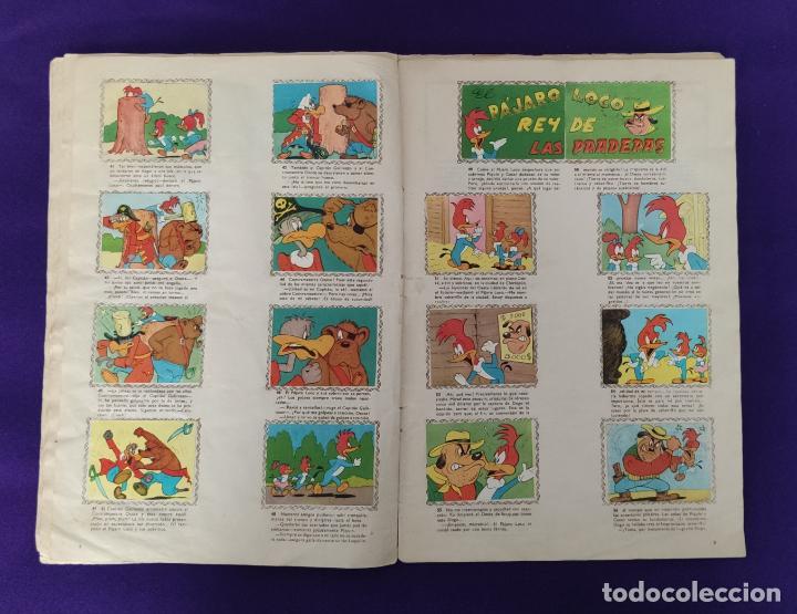 Coleccionismo Álbumes: ALBUM DE CROMOS INCOMPLETO. ALEGRES HISTORIETAS DEL PAJARO LOCO. FALTAN 5 CROMOS DE 200. FHER. 1957. - Foto 6 - 223594123