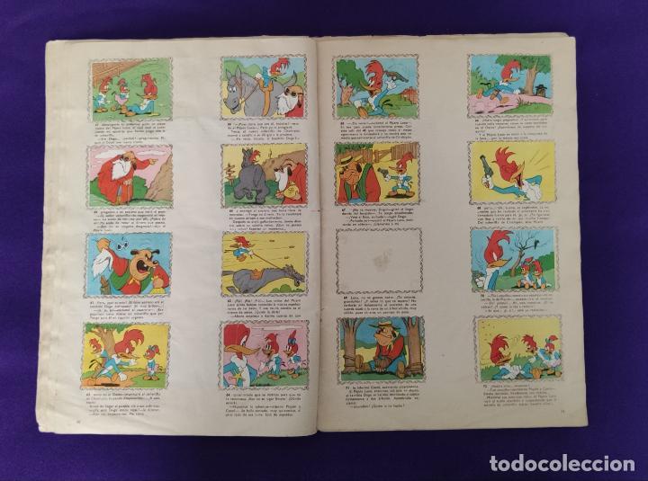 Coleccionismo Álbumes: ALBUM DE CROMOS INCOMPLETO. ALEGRES HISTORIETAS DEL PAJARO LOCO. FALTAN 5 CROMOS DE 200. FHER. 1957. - Foto 7 - 223594123