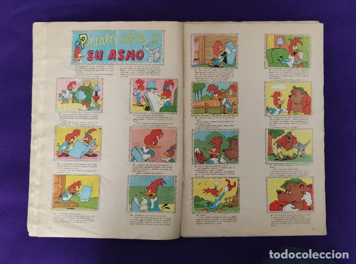 Coleccionismo Álbumes: ALBUM DE CROMOS INCOMPLETO. ALEGRES HISTORIETAS DEL PAJARO LOCO. FALTAN 5 CROMOS DE 200. FHER. 1957. - Foto 8 - 223594123