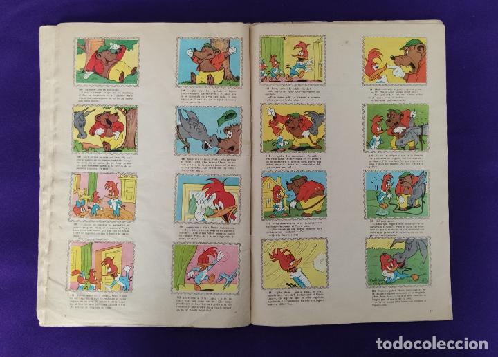 Coleccionismo Álbumes: ALBUM DE CROMOS INCOMPLETO. ALEGRES HISTORIETAS DEL PAJARO LOCO. FALTAN 5 CROMOS DE 200. FHER. 1957. - Foto 9 - 223594123