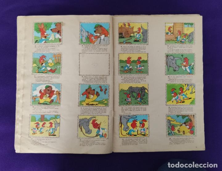 Coleccionismo Álbumes: ALBUM DE CROMOS INCOMPLETO. ALEGRES HISTORIETAS DEL PAJARO LOCO. FALTAN 5 CROMOS DE 200. FHER. 1957. - Foto 10 - 223594123