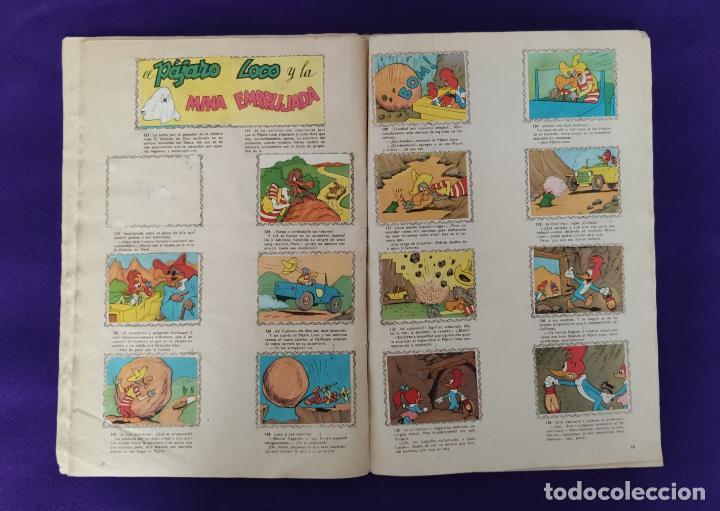 Coleccionismo Álbumes: ALBUM DE CROMOS INCOMPLETO. ALEGRES HISTORIETAS DEL PAJARO LOCO. FALTAN 5 CROMOS DE 200. FHER. 1957. - Foto 11 - 223594123