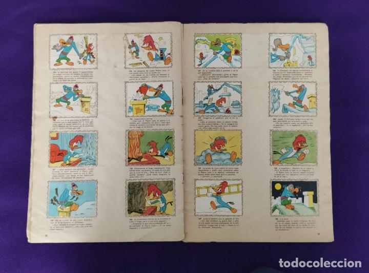 Coleccionismo Álbumes: ALBUM DE CROMOS INCOMPLETO. ALEGRES HISTORIETAS DEL PAJARO LOCO. FALTAN 5 CROMOS DE 200. FHER. 1957. - Foto 13 - 223594123