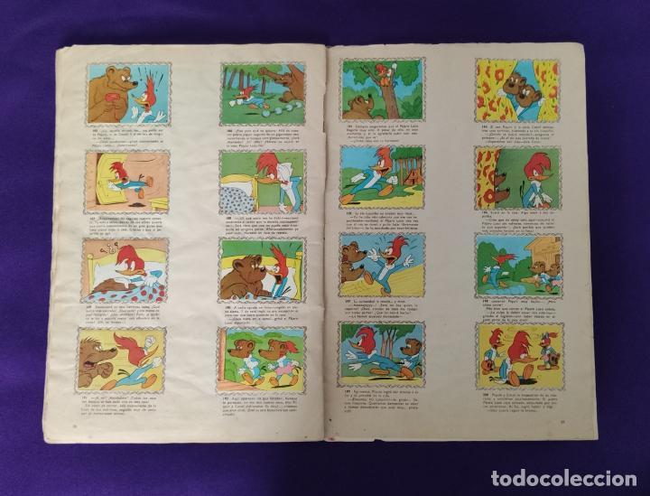 Coleccionismo Álbumes: ALBUM DE CROMOS INCOMPLETO. ALEGRES HISTORIETAS DEL PAJARO LOCO. FALTAN 5 CROMOS DE 200. FHER. 1957. - Foto 14 - 223594123