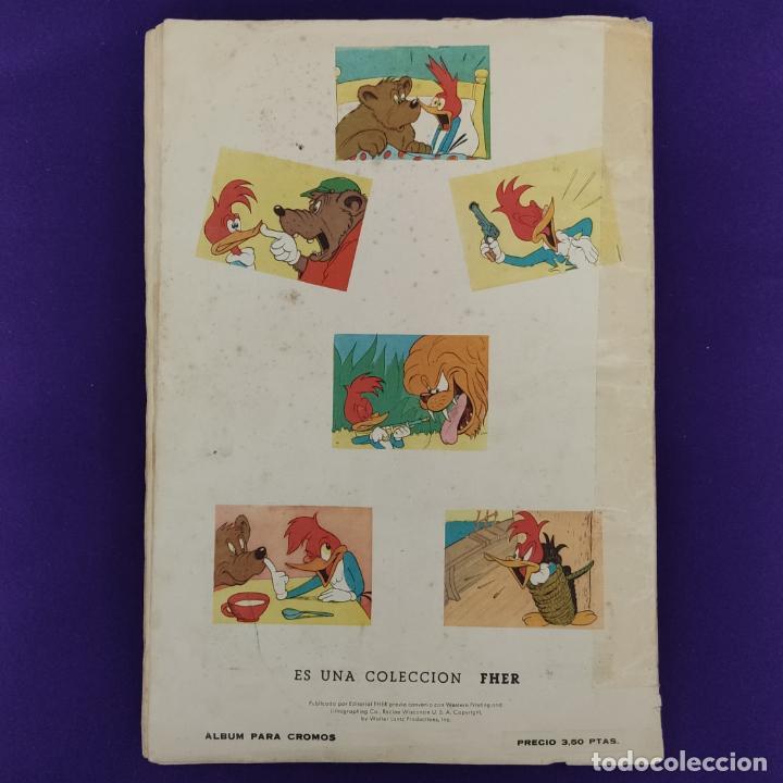 Coleccionismo Álbumes: ALBUM DE CROMOS INCOMPLETO. ALEGRES HISTORIETAS DEL PAJARO LOCO. FALTAN 5 CROMOS DE 200. FHER. 1957. - Foto 17 - 223594123