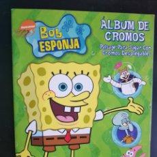Coleccionismo Álbumes: ÁLBUM CROMOS NUEVO BOB ESPONJA MERLIN. Lote 223985216
