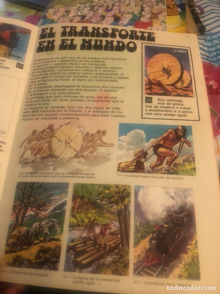 Coleccionismo Álbumes: Álbum de cromos el libro de las adivinanzas 2, incompleto - Foto 3 - 224233811