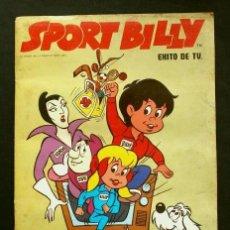 Coleccionismo Álbumes: SPORT BILLY (AÑO 1981) ED. FHER - ALBUM DE CROMOS INCOMPLETO CON 153 CROMOS DE 178. Lote 224271140