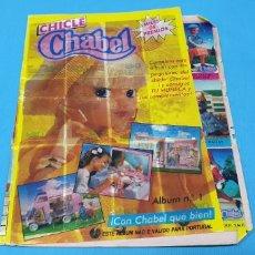 Coleccionismo Álbumes: ÁLBUM DE CROMOS - CHICLE CHABEL. Lote 224293777