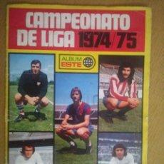 Collezionismo Album: ÁLBUM DE LIGA 1974-1975 VACÍO. Lote 224384373