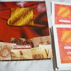 Coleccionismo Álbumes: LIBRO DE ORO DE CORDOBA VACIO CON 72 SOBRES/ENTREGA SIN ABRIR- IMPORTANTE LEER Y VER FOTOS. Lote 224612658