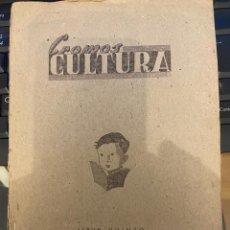 Coleccionismo Álbumes: CROMOS CULTURA ALBUM QUINTO FALTAN 8 CROMOS. Lote 295431203