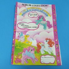Coleccionismo Álbumes: ÁLBUM DE PREMIO - NUEVO CHICLE DE COLORES - MI PEQUEÑO PONY. Lote 224829987