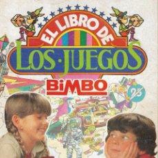 Coleccionismo Álbumes: ALBUM DE CROMOS EL LIBRO DE LOS JUEGOS BIMBO - 1979 - CON 89 CROMOS - INCOMPLETO.. Lote 225261300