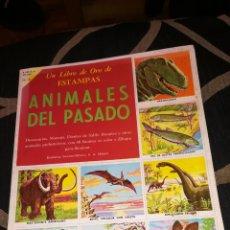 Coleccionismo Álbumes: ANIMALES DEL PASADO, ÁLBUM DE 1958, FALTA 1 CROMO. Lote 225385845