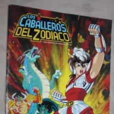 Coleccionismo Álbumes: ALBUM DE CROMOS LOS CABALLEROS DEL ZODIACO ( PANINI- 1986). - FALTAN 29 CROMOS (DE 239). Lote 225536478