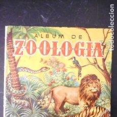 Coleccionismo Álbumes: ÁLBUM ZOOLOGÍA. Lote 225790757