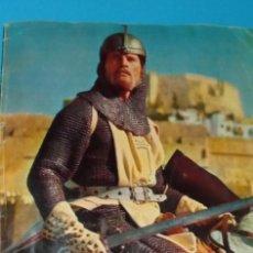 Coleccionismo Álbumes: ALBUM EL CID EDITORIAL FHER 1962 LE FALTAN 18 CROMOS. Lote 225890040