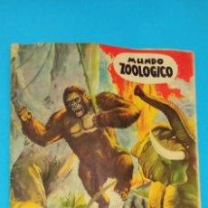 Coleccionismo Álbumes: ALBUM ZOOLOGICO MAS DE 500 CROMOS PEGADOS USADO Y PAGINAS CENTRALES DESGRAPADAS. Lote 225900900