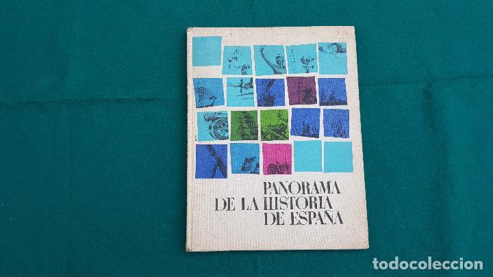 ALBUM DE CROMOS PANORAMA DE LA HISTORIA DE ESPAÑA (1965) EDITADO POR NESTLÉ (VACIO) (Coleccionismo - Cromos y Álbumes - Álbumes Incompletos)
