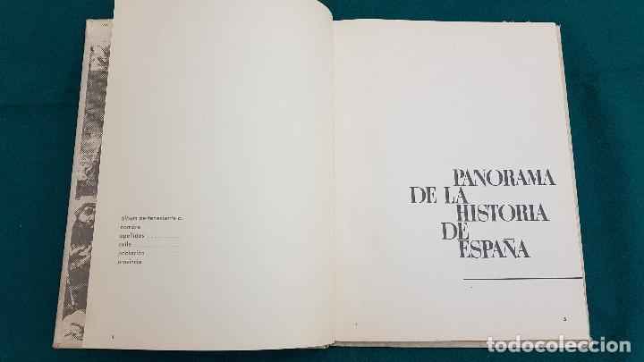 Coleccionismo Álbumes: ALBUM DE CROMOS PANORAMA DE LA HISTORIA DE ESPAÑA (1965) EDITADO POR NESTLÉ (VACIO) - Foto 5 - 226140045