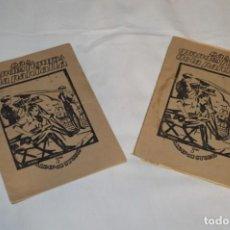 Collectionnisme Albums: LOTE 2 ÁLBUMES MUY ANTIGUOS / LAS GRANDES FIGURAS DE LA PANTALLA - ÁLBUMS STUDIO - AÑOS 40/50 ¡MIRA!. Lote 226376665