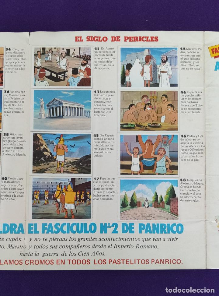 Coleccionismo Álbumes: ALBUM COMPLETO. ERASE UNA VEZ EL HOMBRE. FASCICULO 1. PANRICO. 1978. - Foto 8 - 226834260