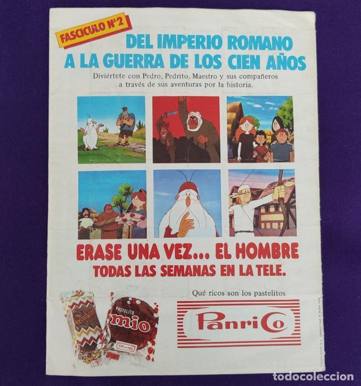 Coleccionismo Álbumes: ALBUM COMPLETO. ERASE UNA VEZ EL HOMBRE. FASCICULO 1. PANRICO. 1978. - Foto 9 - 226834260