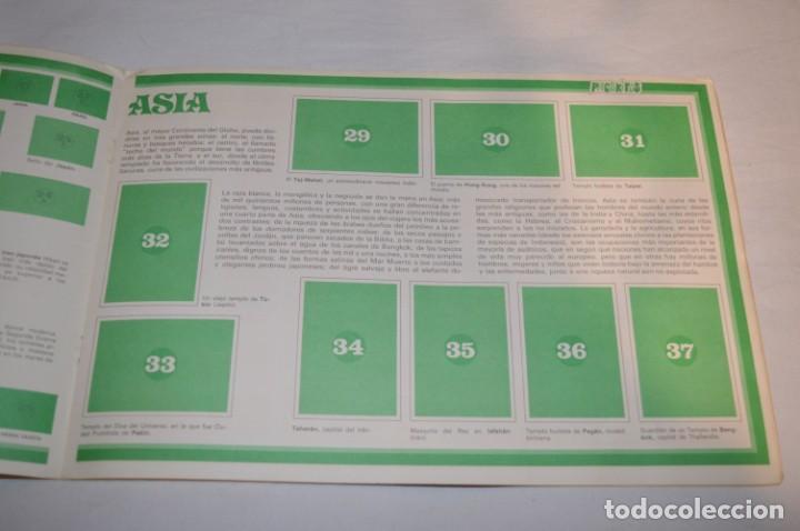Coleccionismo Álbumes: ALBUM LA VUELTA AL MUNDO CON PHOSKITOS - ALBUM VACIO LISTO PARA COMPLETARLO - ¡MIRA LAS FOTOS! - Foto 5 - 227077365
