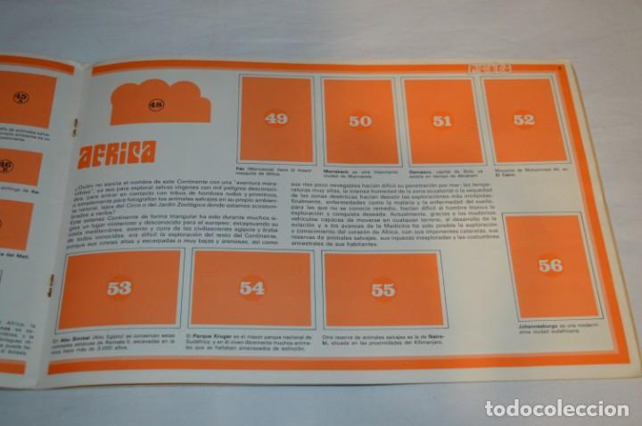 Coleccionismo Álbumes: ALBUM LA VUELTA AL MUNDO CON PHOSKITOS - ALBUM VACIO LISTO PARA COMPLETARLO - ¡MIRA LAS FOTOS! - Foto 8 - 227077365