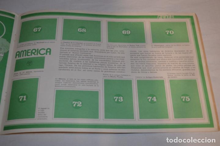 Coleccionismo Álbumes: ALBUM LA VUELTA AL MUNDO CON PHOSKITOS - ALBUM VACIO LISTO PARA COMPLETARLO - ¡MIRA LAS FOTOS! - Foto 10 - 227077365