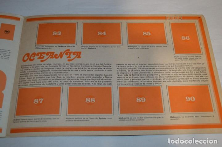 Coleccionismo Álbumes: ALBUM LA VUELTA AL MUNDO CON PHOSKITOS - ALBUM VACIO LISTO PARA COMPLETARLO - ¡MIRA LAS FOTOS! - Foto 12 - 227077365