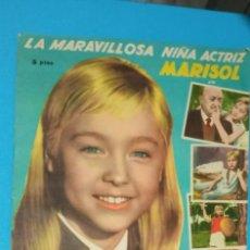Coleccionismo Álbumes: ALBUM UN RAYO DE LUZ DE MARISOL EDITORIAL FHER DE 1961 SOLO LE FALTAN 3 CROMOS BUEN ESTADO. Lote 227086430