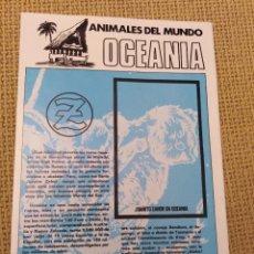 Coleccionismo Álbumes: ALBUM ZAHOR OCEANÍA. Lote 227769779