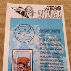 Coleccionismo Álbumes: ALBUM ZAHOR AFRICA. Lote 227770759