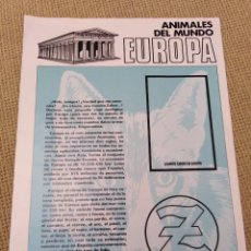 Coleccionismo Álbumes: ALBUM ZAHOR EUROPA. Lote 227772400