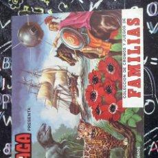 Coleccionismo Álbumes: MAGA - ALBUM FAMILIAS VACIO Y EN PERFECTO ESTADO SIN USO. MUY DIFICIL VER UNO VACIO ASI TAN NUEVO. Lote 228100675
