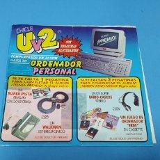 Coleccionismo Álbumes: ÁLBUM DE PREMIO - CHICLE - U V 2. Lote 228126645
