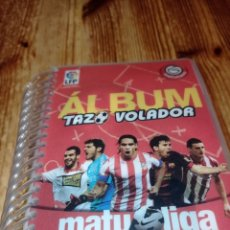 Coleccionismo Álbumes: ALBUM MATU LIGA TAZO VOLADOR 2013. Lote 228812040