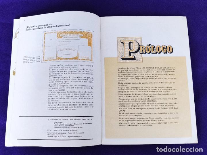 Coleccionismo Álbumes: ALBUM INCOMPLETO. EL PORQUE DE LAS COSAS Nº2. BIMBO. 1972. FALTAN 6 CROMOS DE 232. - Foto 4 - 229196715
