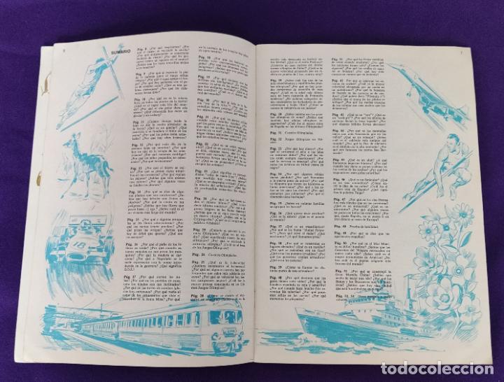 Coleccionismo Álbumes: ALBUM INCOMPLETO. EL PORQUE DE LAS COSAS Nº2. BIMBO. 1972. FALTAN 6 CROMOS DE 232. - Foto 5 - 229196715