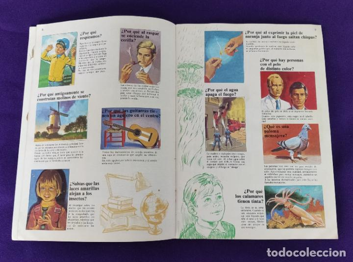 Coleccionismo Álbumes: ALBUM INCOMPLETO. EL PORQUE DE LAS COSAS Nº2. BIMBO. 1972. FALTAN 6 CROMOS DE 232. - Foto 6 - 229196715