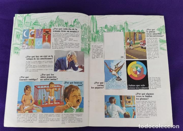 Coleccionismo Álbumes: ALBUM INCOMPLETO. EL PORQUE DE LAS COSAS Nº2. BIMBO. 1972. FALTAN 6 CROMOS DE 232. - Foto 8 - 229196715