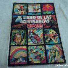 Coleccionismo Álbumes: ANTIGUO ALBUM DE CROMOS BIMBO EL LIBRO DE LAS ADIVINANZAS 1974 INCOMPLETO. Lote 229840000