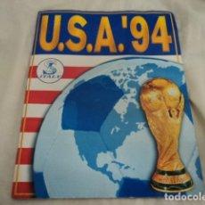Coleccionismo Álbumes: ANTIGUO ALBUM DE CROMOS FUTBOL MUNDIAL USA 94 FIFA 1994 INCOMPLETO. Lote 229840225