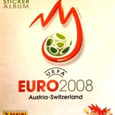 Coleccionismo Álbumes: ALBUM UEFA EURO AUSTRIA SUIZA 2008 PANINI - STICKER ALBUM - SWITZERLAND 08 - ESQUINA MAL. Lote 230956710